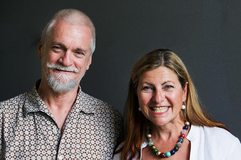 Wolfgang Puschnig und Patricia Simpson