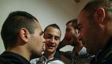 Sängergruppe in Sardinien