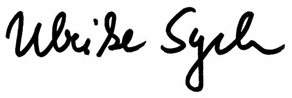 Unterschrift Sych