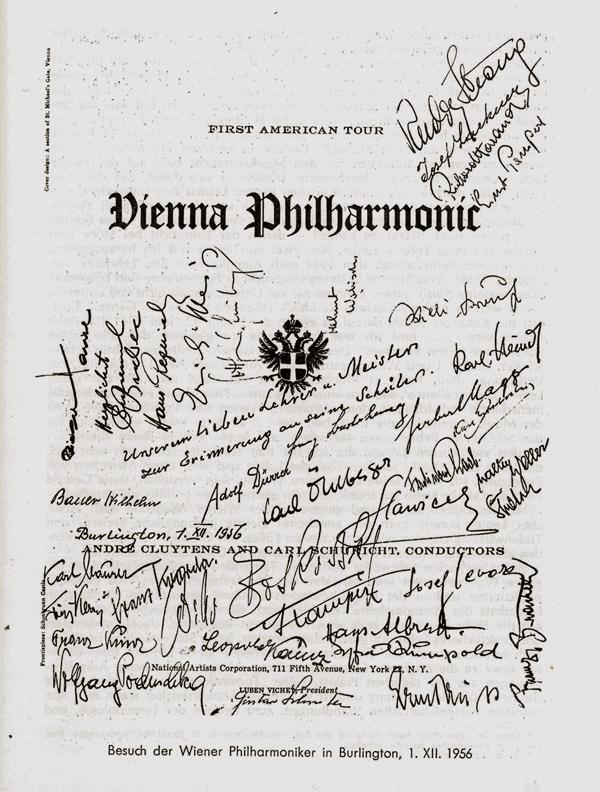 Philharmoniker Programm