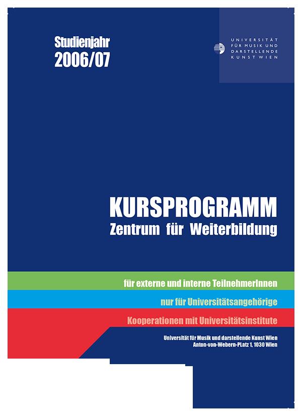 Kursprogramm 0607