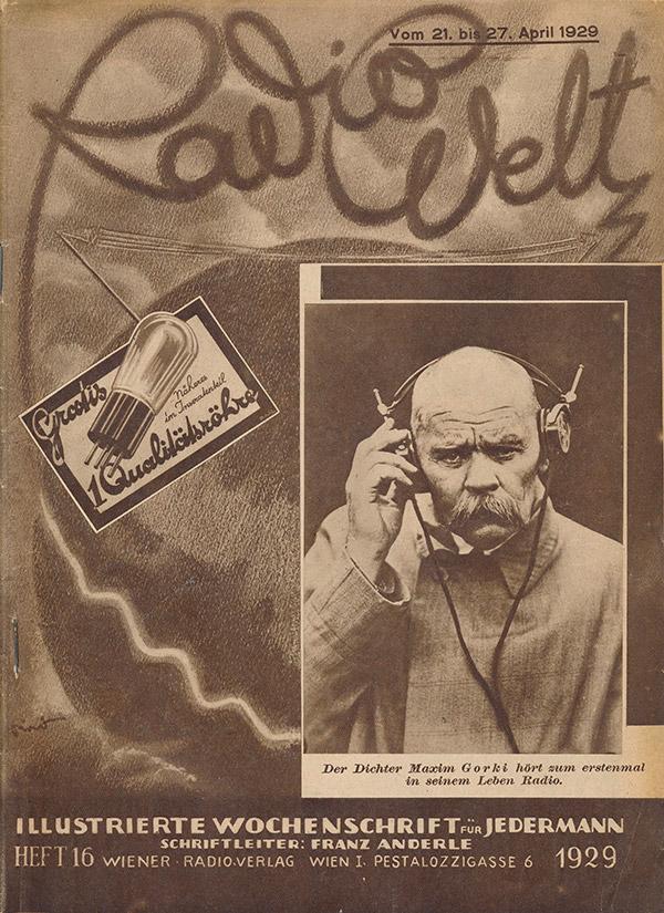 Zeitschrift Radiowelt