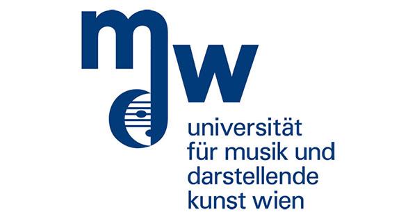 Bildergebnis für Universität für Musik und darstellende Kunst logo