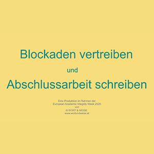 """Film """"Blockaden vertreiben"""""""