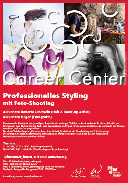 Professionelles Styling mit Foto-Shooting