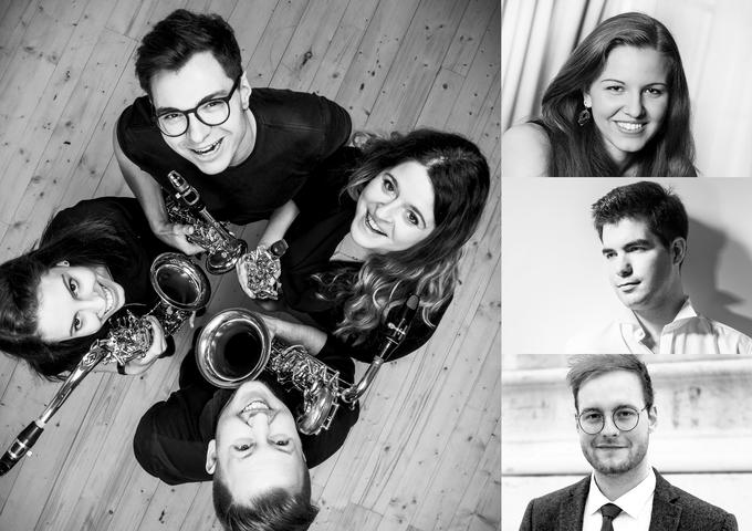 Photocollage der Künstler, Künstlerinnen, die beim Beyond Talent Konzert spielen