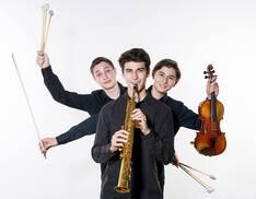 Mitglieder des Trio SMS