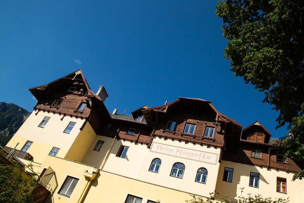 Das Hotel Marienhof in Reichenau an der Rax.