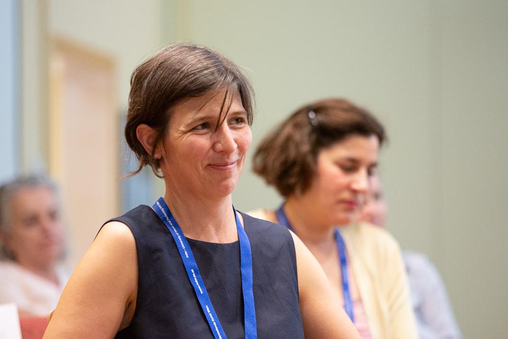 Karoline Feyertag, Koordinatorin der isaScience 2019.