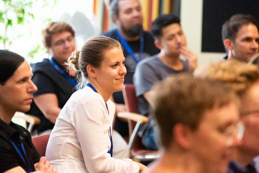 Blick ins Publikum während der isaScience 2019.