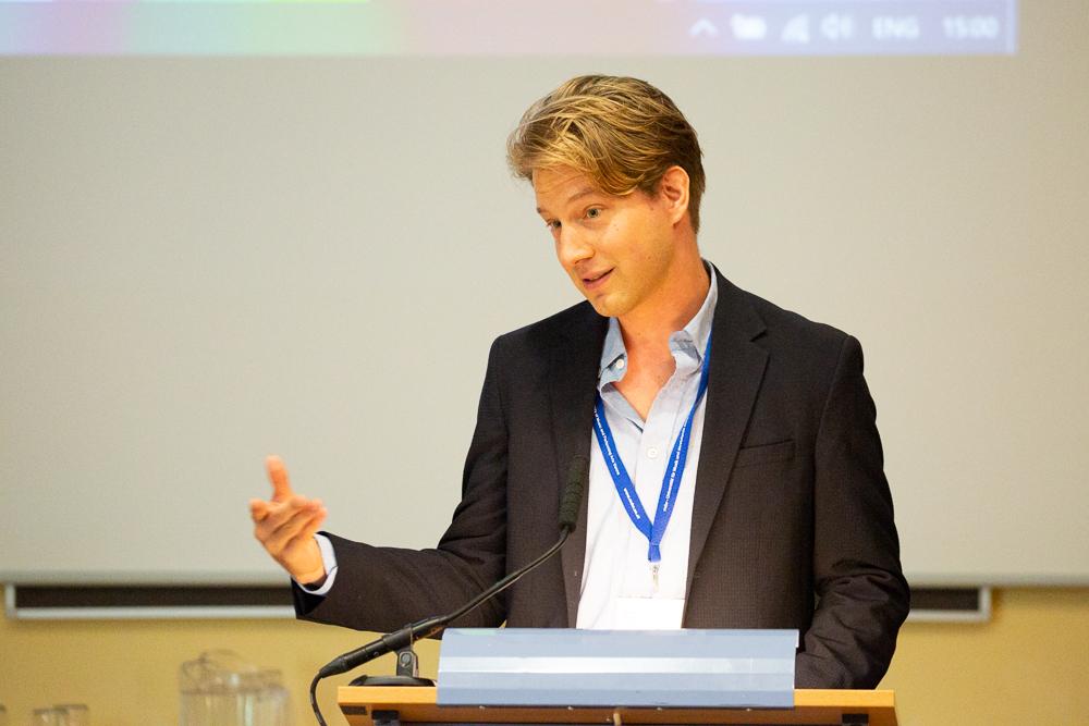 Marko Kölbl,  Mitglied des isaScience-Leitungsteams seit 2018.