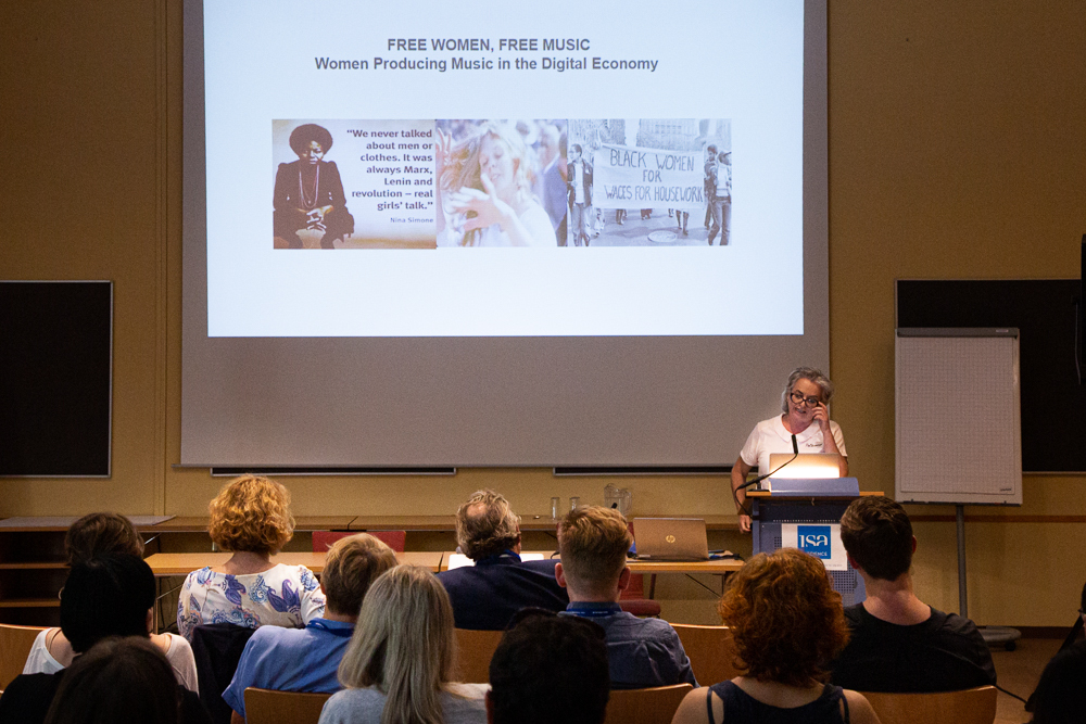 Die Keynote lecture von Sally-Anne Gross bei der isaScience 2019.