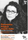 Plakat: Pannonica Project meets mdw - Sylvia Courvoisier