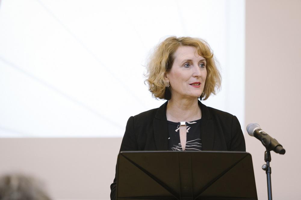 Begrüßungsworte von Rektorin Ulrike Sych