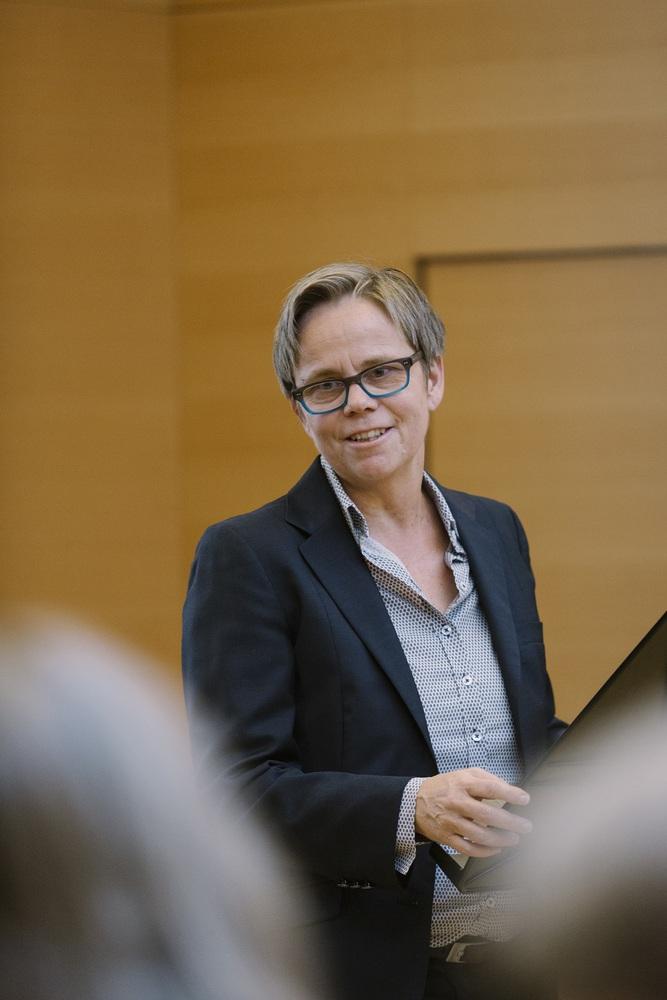 Begrüßungsworte von Vizerektorin Gerda Müller