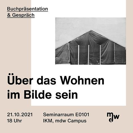"""Sujet: Buchpräsentation & Gespräch """"Über das Wohnen im bilde sein"""""""