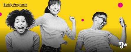 Sujetbild für das mdw-Buddy-Programm 2020/21