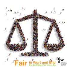 Logo: Fair in Wort und Bild - Ein Leitfaden für die mdw