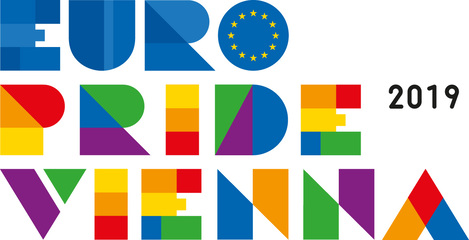 Logo: EURO PRIDE VIENNA 2019