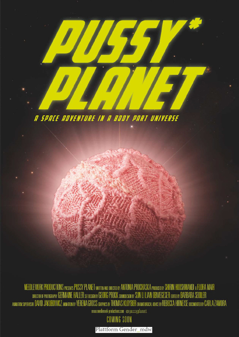 Flyer: Pussy Planet