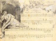 """Vignette von Wilhelm Hensel aus dem Klavierzyklus """"Das Jahr"""" von Fanny Hensel"""