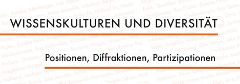 Logo: Wissenskulturen und Diversität - Positionen, Diffraktionen, Partizipationen