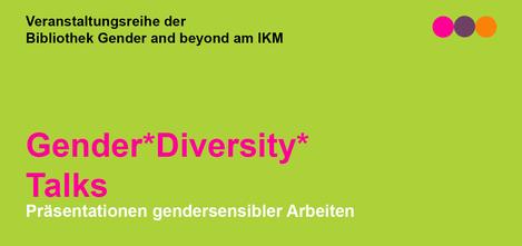 Header der Veranstaltungsreihe Gender*DiversityTalks an der mdw
