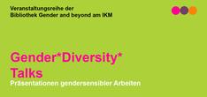Header der Veranstaltungsreihe Gender*Diversity*Talks an der mdw