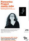 Plakat: Pannonica Project meets mdw - Brüggemann & Zenk