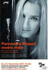 Plakat: Pannonica Project meets mdw - Hammar Karin