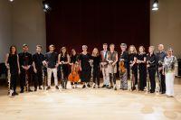 Gruppenfoto der MusikerInnen