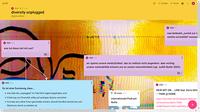 padlet-diversity unplugged, screenshot