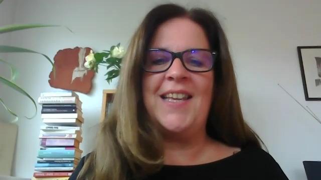 Screenshot: Gabriele Bargehr im Videotalk