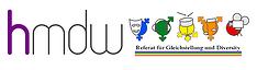 Logo: hmdw-Referat Gleichstellung und Diversity