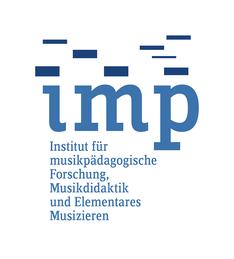 IMP-Logo mit Schriftzug unten - klein