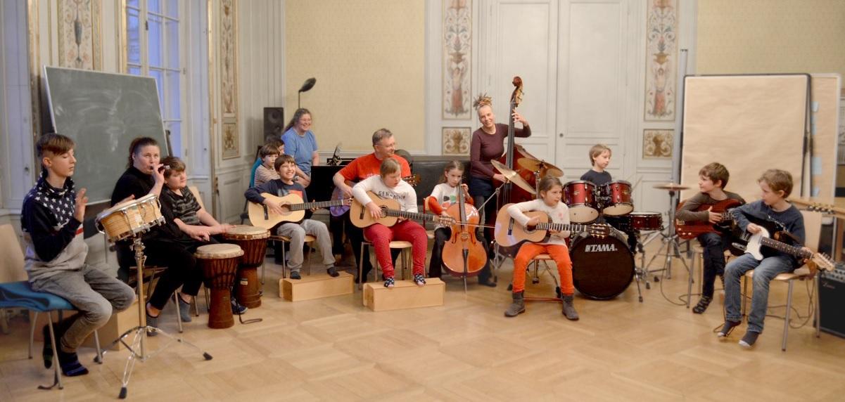 Die Young All Stars im Konzertsaal der Metternichgasse