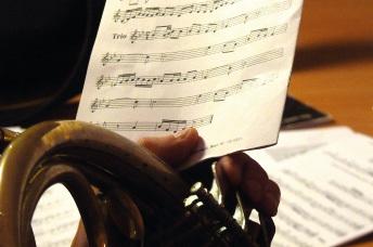 Instrument und Noten