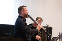 Maciej Golebiowski & Alexander Shevchenko (klezmer reloaded) playing clarinet and accordion