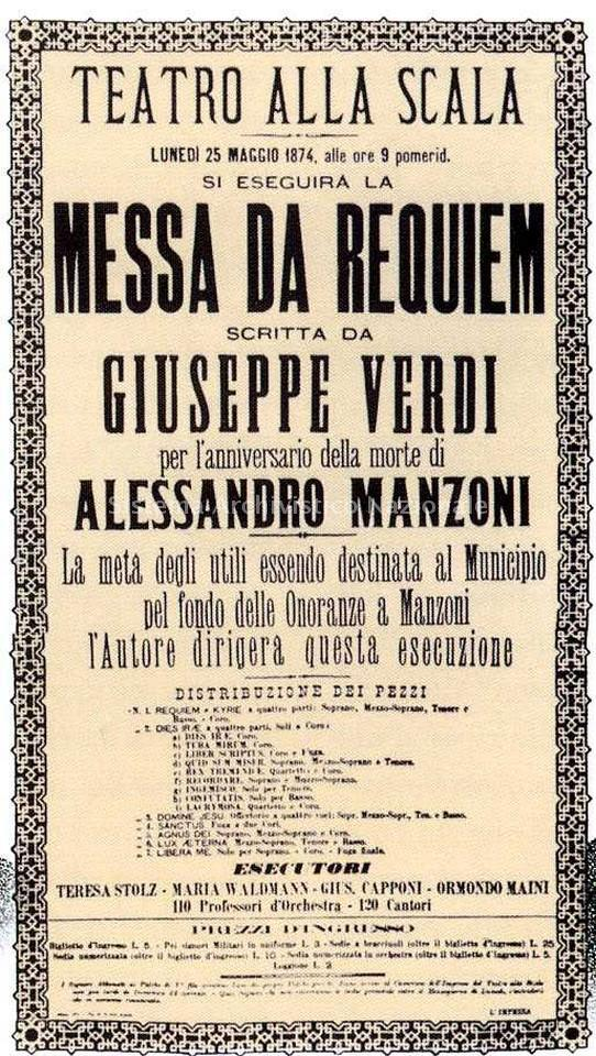 Poster der Premiere 1974