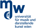Univeristät für Musik und darstellende Kunst Wien - Logo