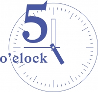 Logo: 5 o´clock