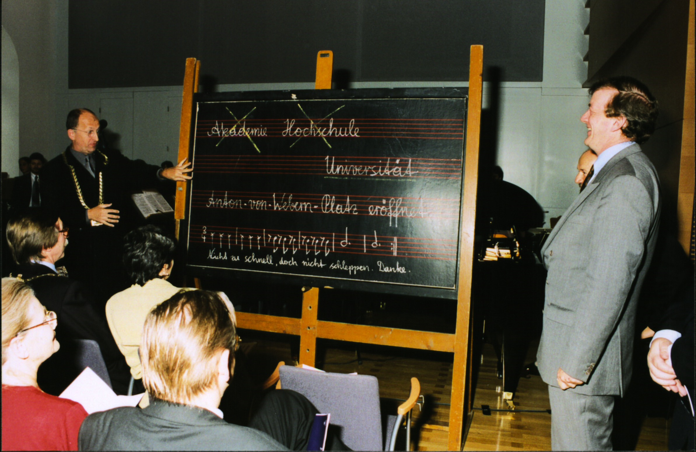 Eröffnung Campus