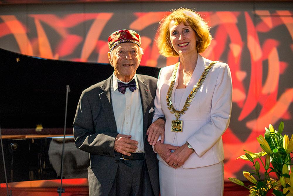 Paul Badura-Skoda und Ulrike Sych