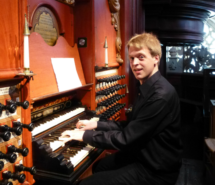 Stefan Donner an Müller Orgel Haarlem
