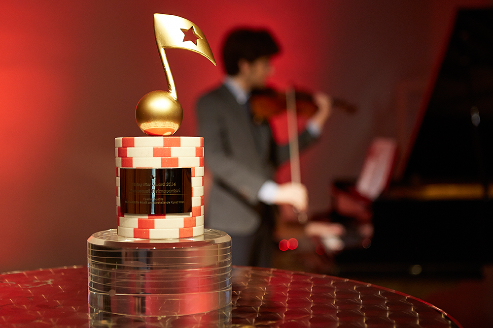 Casinos Austria Rising Star Award Aufnahme