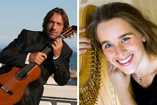 Adriano del Sal und Mirjam Schröder