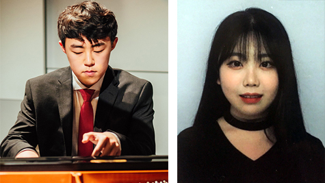 Geonhee Lee und Yebin Jang