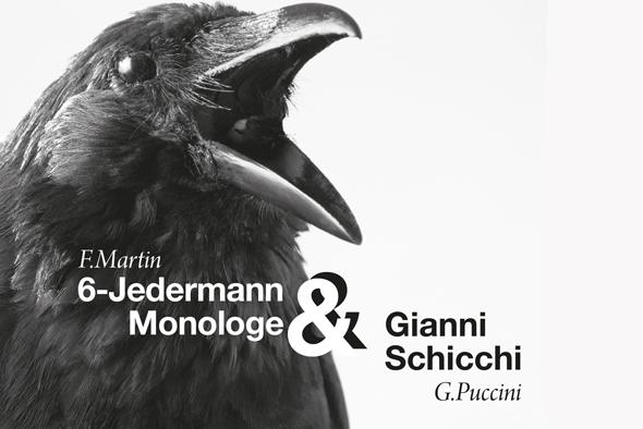 Gianni Schicchi und Jedermann Monologe