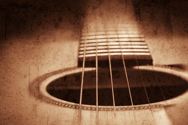 Gitarre im Musikverein