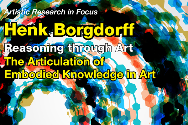 Henk Borgdorff Plakat